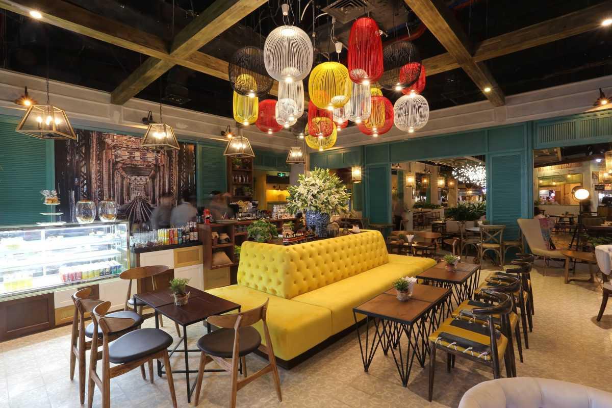 Thiết kế nội thất quán cafe đẹp tại Tp.HCM