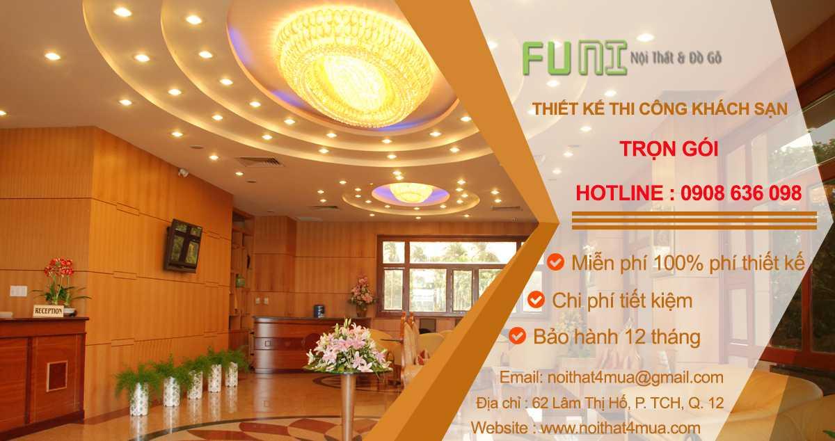 Thiết kế nội thất khách sạn đẹp hiện đại