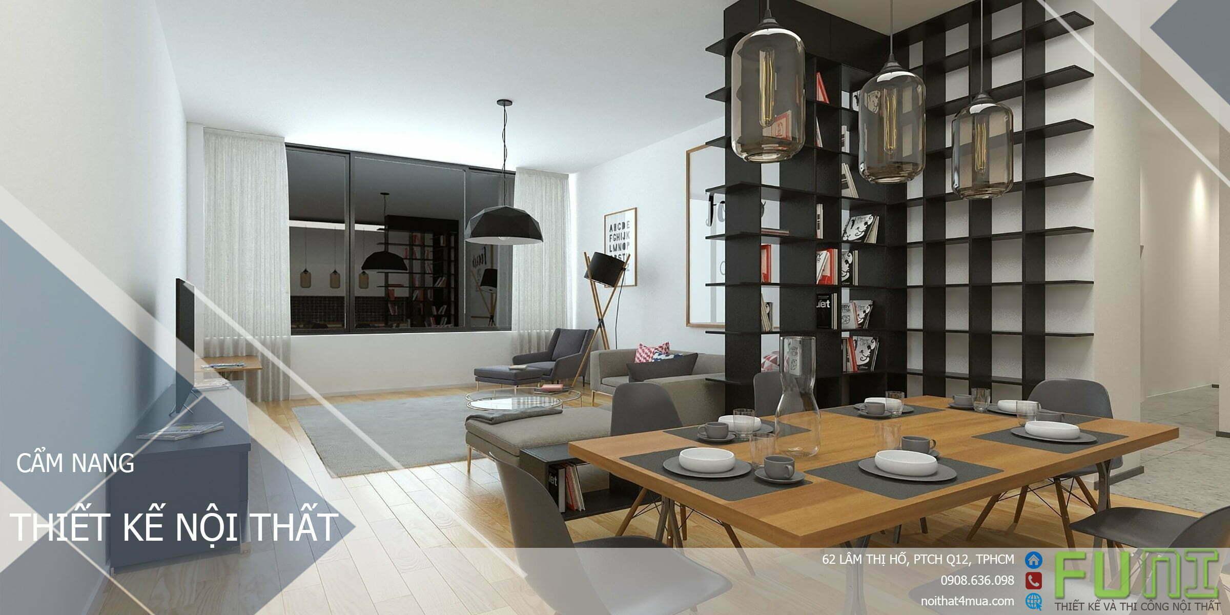 Cẩm nang nội thất tiện ích cho ngôi nhà việt