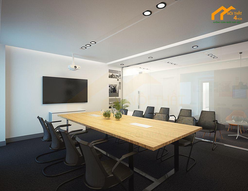 Mẫu phòng họp công ty đẹp đầy đủ chức năng