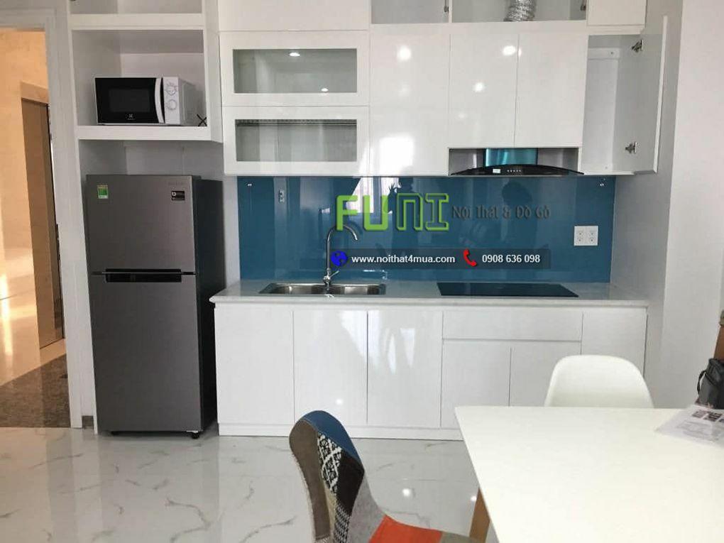 Thiết kế nội thất chung cư 45m2 - nhà bếp xinh
