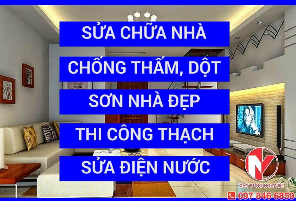 Báo giá sửa chữa nhà giá rẻ Nga Việt