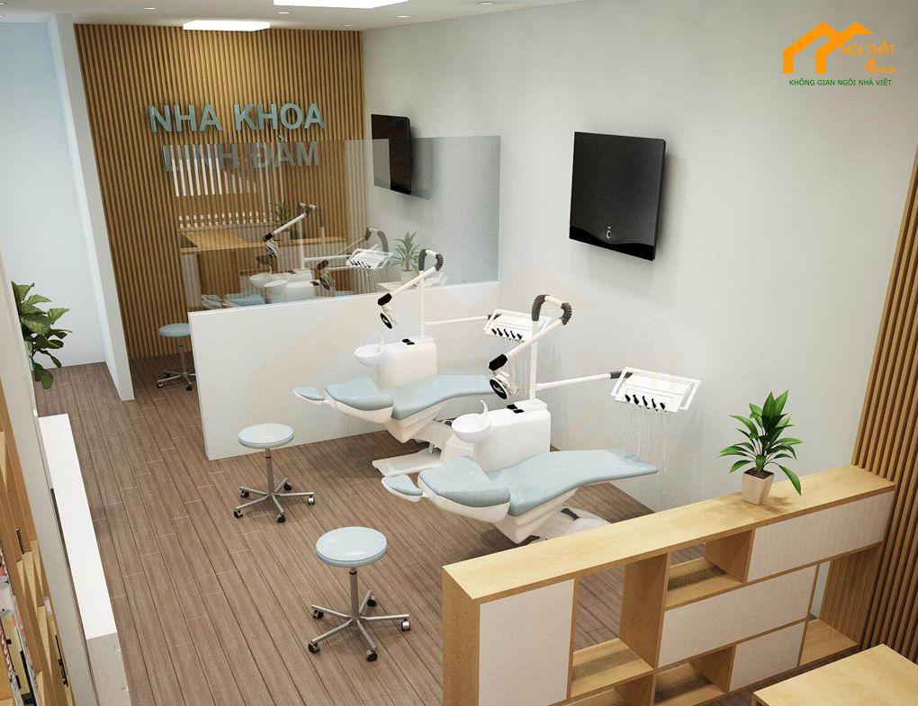 Mẫu thiết kế văn phòng nha khoa chuyên nghiệp
