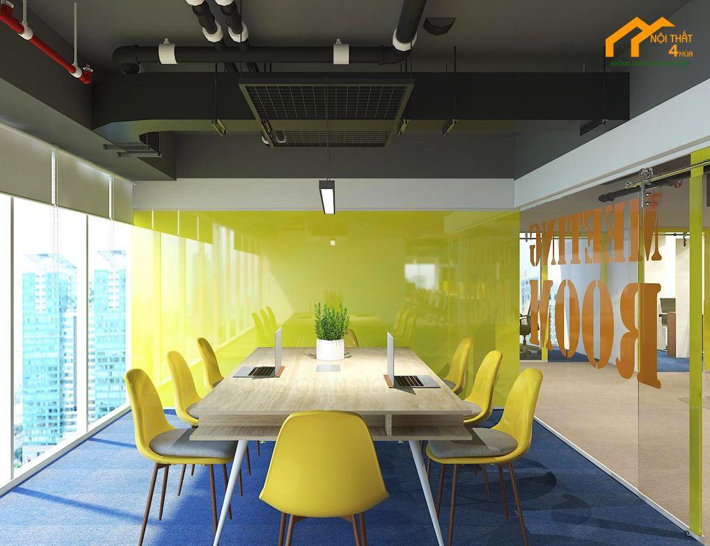 Mẫu phòng họp công ty hiện đại đẹp
