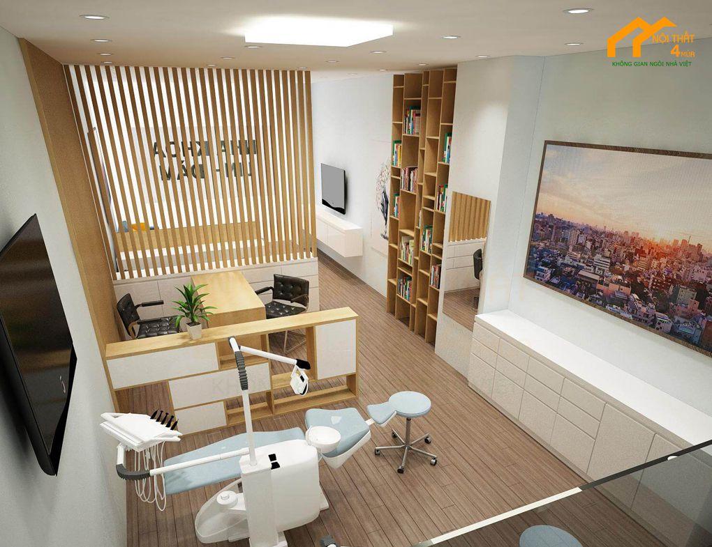 Trang trí đồ nội thất cho phòng khoa hiện đại