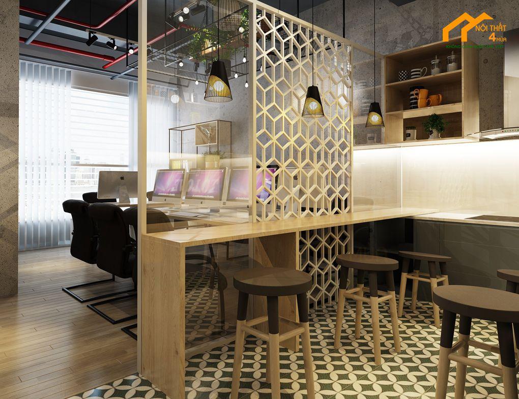 Thiết kế khu pantry cho văn phòng nhỏ đẹp