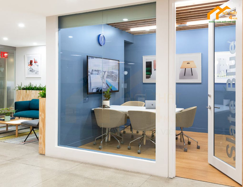 Mẫu thiết kế phòng họp nhỏ đẹp