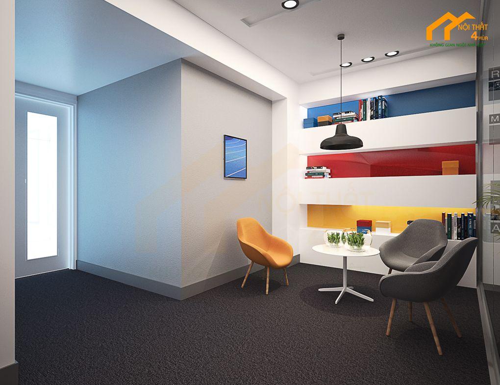 Mẫu thiết kế phòng tiếp đoán văn phòng đẹp