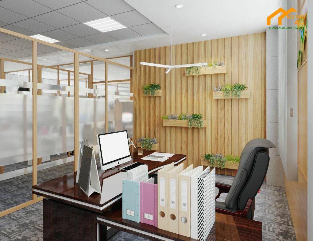 Mẫu thiết kế văn phòng giám đốc sang trọng