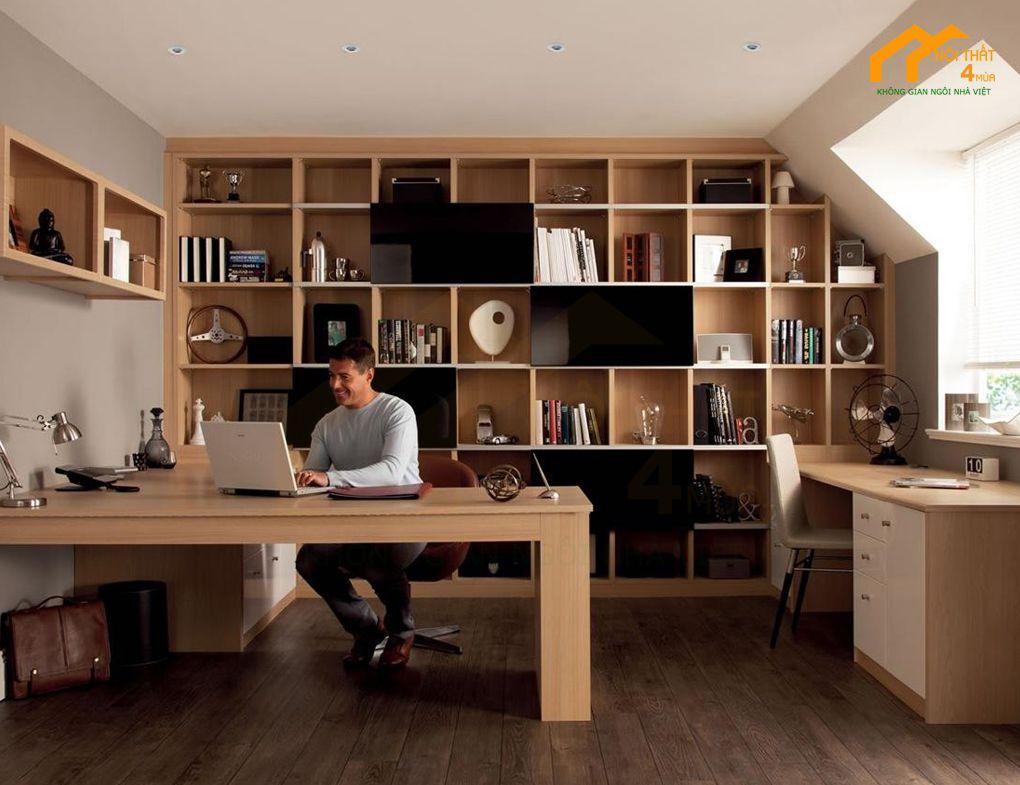 Setup văn phòng làm việc tại nhà chuyên nghiệp