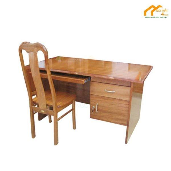 Bàn máy tính gỗ tự nhiên