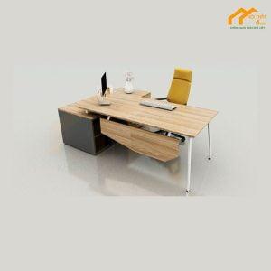 bàn trưởng phòng gỗ công nghiệp
