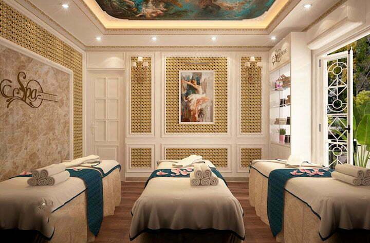 Nên chọn công ty nội thất uy tín để hoàn thiện bản thiết kế spa