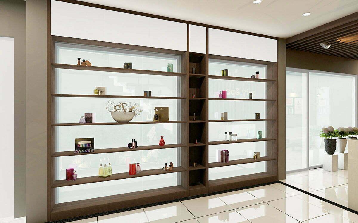 Thiết kế tủ trưng bày sản phẩm đẹp hiện đại