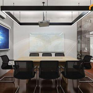 Mẫu bàn họp được thiết kế 8 người ngồi